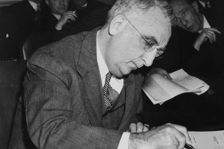 Bretton Woods in New Hampshire: 1944 hatten sich hier 44 Nationen auf den Goldstandard festgelegt, auch US-Finanzminister Fred Vinson unterschrieb.