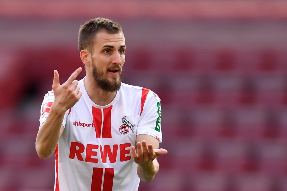 Dominick Drexler (31) soll laut Medienbericht vom 1. FC Köln zu Schalke 04 wechseln wollen.