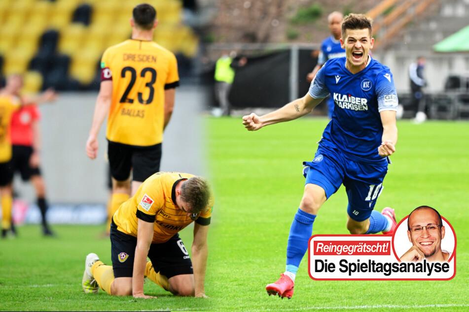Kolumne zum Zweitliga-Abstiegskampf: KSC und Wehen setzen Dynamo unter Druck!