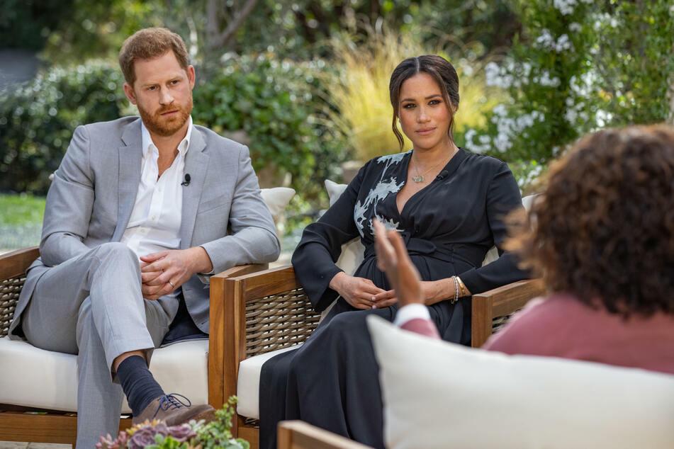 Das Interview von Prinz Harry (l.) und Herzogin Meghan mit der Star-Moderatorin Oprah Winfrey (67) am 8. März brachte den Ex-Royals weltweite Aufmerksamkeit.