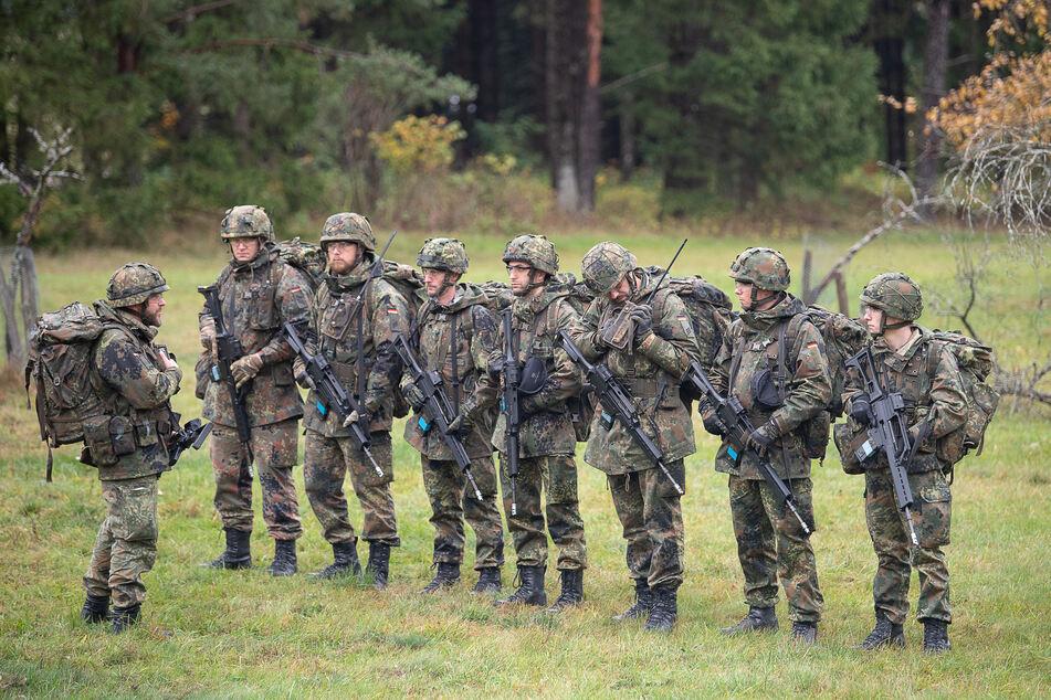 Soldaten der Bundeswehr bei einer Übung im vergangenen Jahr.