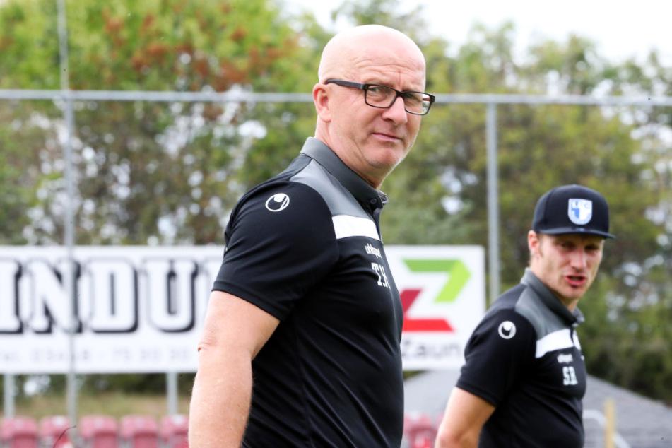 Ein Blick zurück? Für Ex-Dynamo Thomas Hoßmang (53) gilt es, mit dem FCM nach vorn zu schauen.
