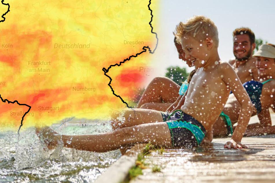 Der Sommer ist zurück in Deutschland! Temperaturen bis 30 Grad