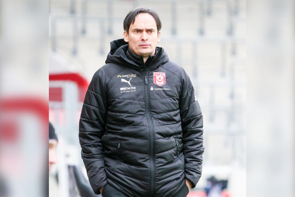 Gästetrainer Florian Schnorrenberg (43) ärgerte sich über den verpassten Sieg.