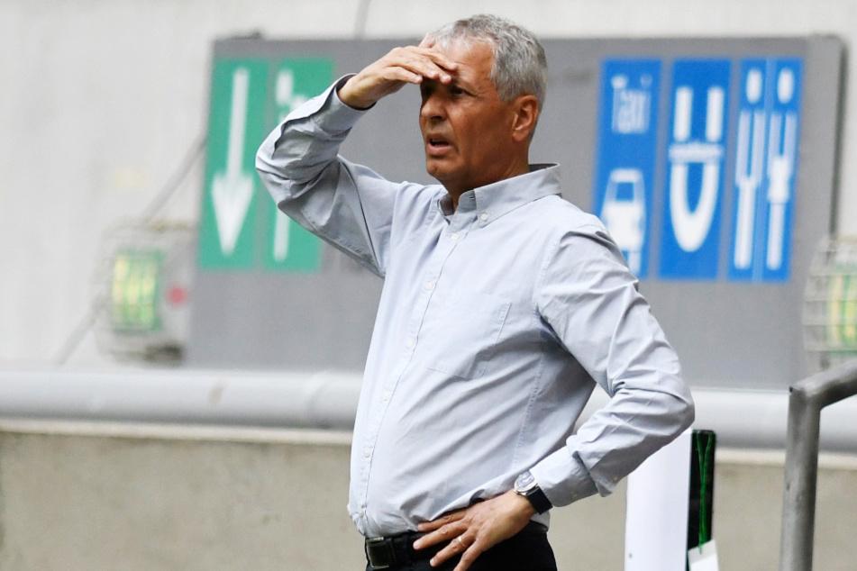 """Borussia Dortmunds Trainer Lucien Favre hatte """"ein klares Tor"""" gesehen."""