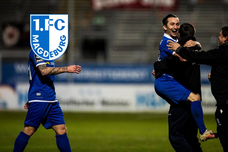Riesen-Erleichterung beim 1. FC Magdeburg nach Abstiegskracher! 1. Sieg nach 6 Pleiten in Folge