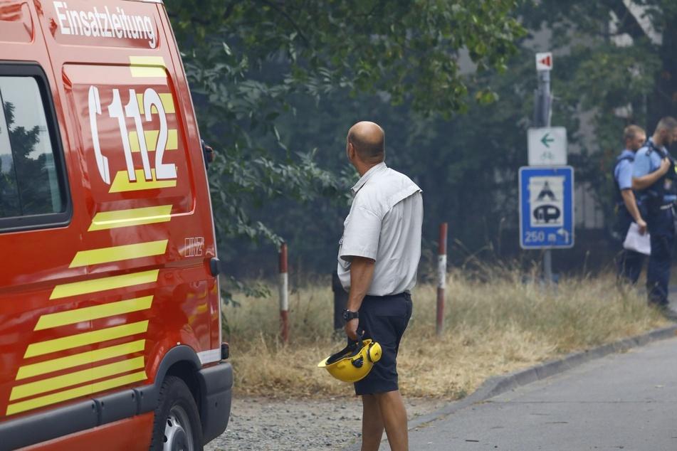 Explosion am Frankfurter Flughafen sorgt für weiteres Flammen-Inferno
