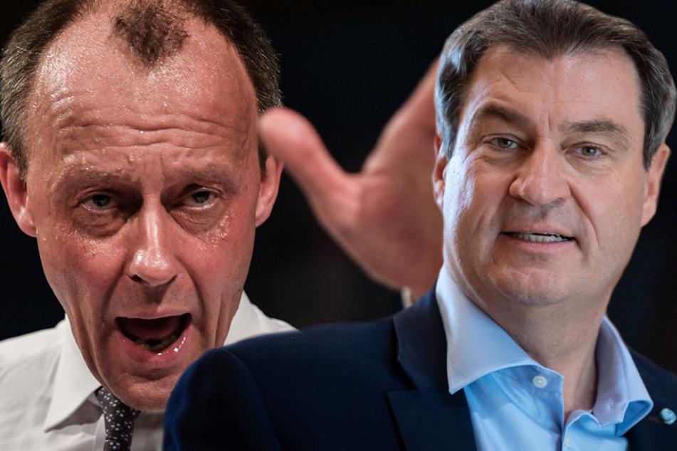 Söder will krisenerfahrenen Kanzlerkandidaten: Merz lehnt den CSU-Chef ab