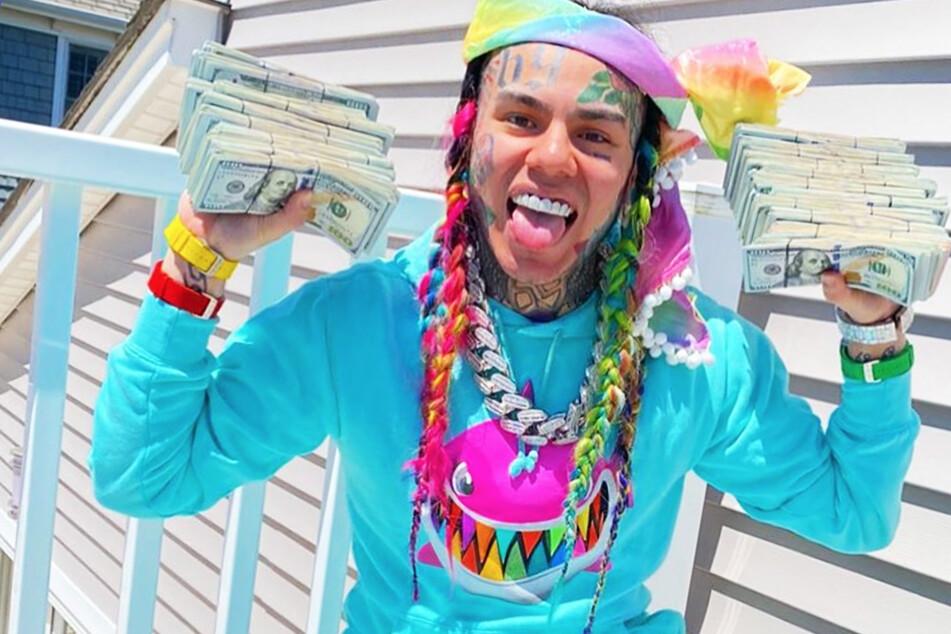 Rapper 6ix9ine will Geld an Kinder in Not spenden, doch die Organisation lehnt ab
