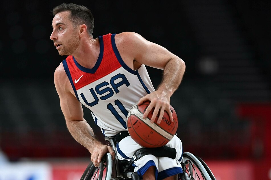 Men's wheelchair basketball team captain Steve Serio led Team USA with 28 points in their gold medal win over Japan.