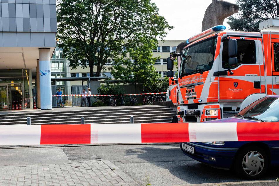 Gas-Austritt in Wiesbaden: Feuerwehr evakuiert Anwohner wegen Explosions-Gefahr
