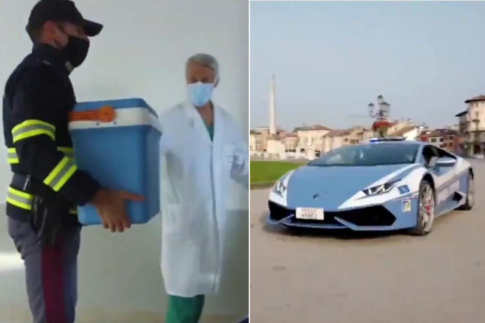 Es musste schnell gehen: Niere mit Lamborghini in Klinik gebracht