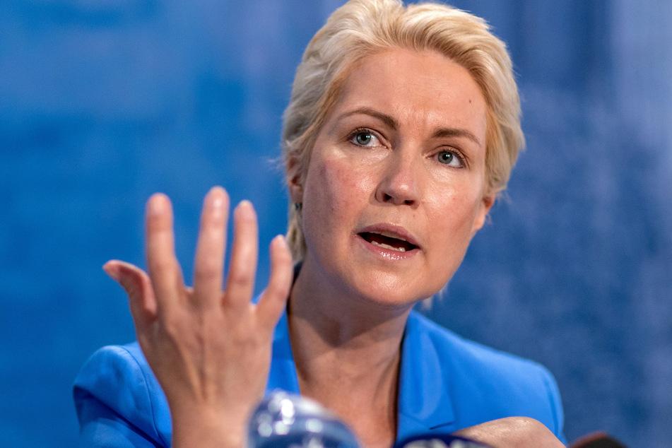 Mecklenburg-Vorpommerns Ministerpräsidentin Manuela Schwesig (47, SPD) schließt einen erneuten Lockdown in der Corona-Pandemie aus.