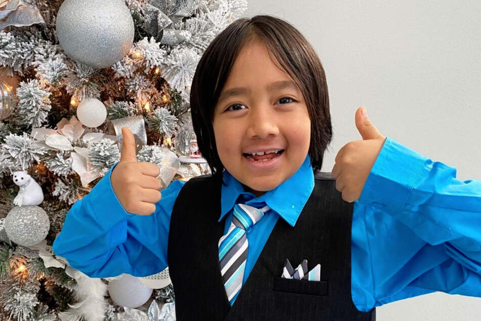 At just nine years old, this boy is the highest earning Youtuber in the world.