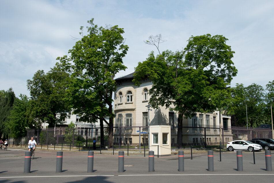 Darum wird das Leipziger US-Konsulat heute besonders geschützt