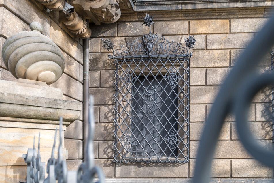 Dresden: Juwelenraub im Grünen-Gewölbe: Sachsens berühmtestes Fenster verrammelt