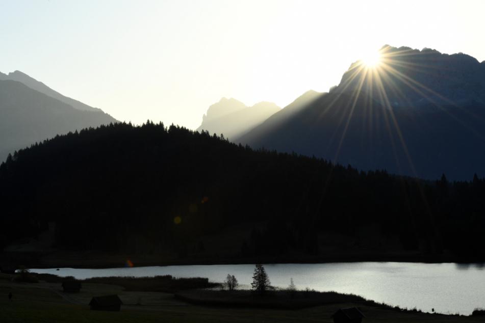 Im Karwendelgebirge wurde eine junge Dänin vermisst.