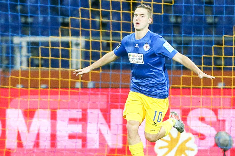 Er ist DIE Lebensversicherung von Eintracht Braunschweig: Martin Kobylanski ist seit dem Re-Start in fünf Spielen an sieben Toren direkt beteiligt. (Archivbild)