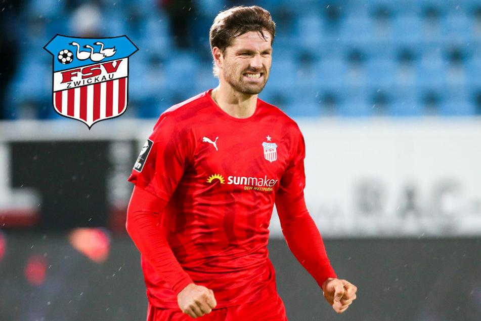 FSV Zwickau verlängert mit Stürmer Ronny König