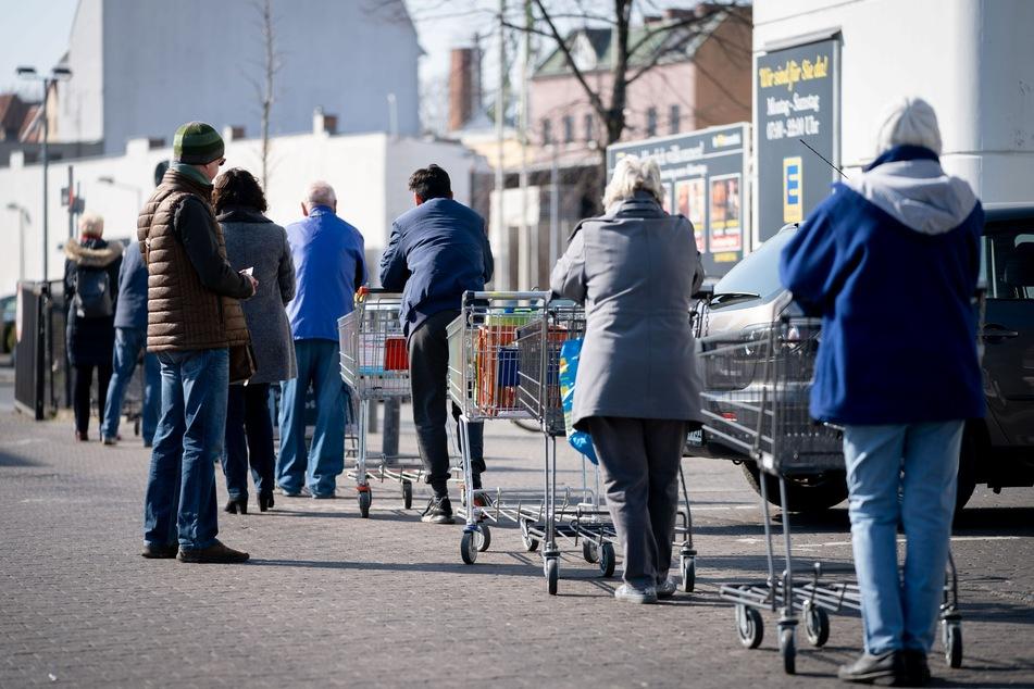 Supermärkte befürchten neuen Ansturm, aber nicht wegen Coronavirus
