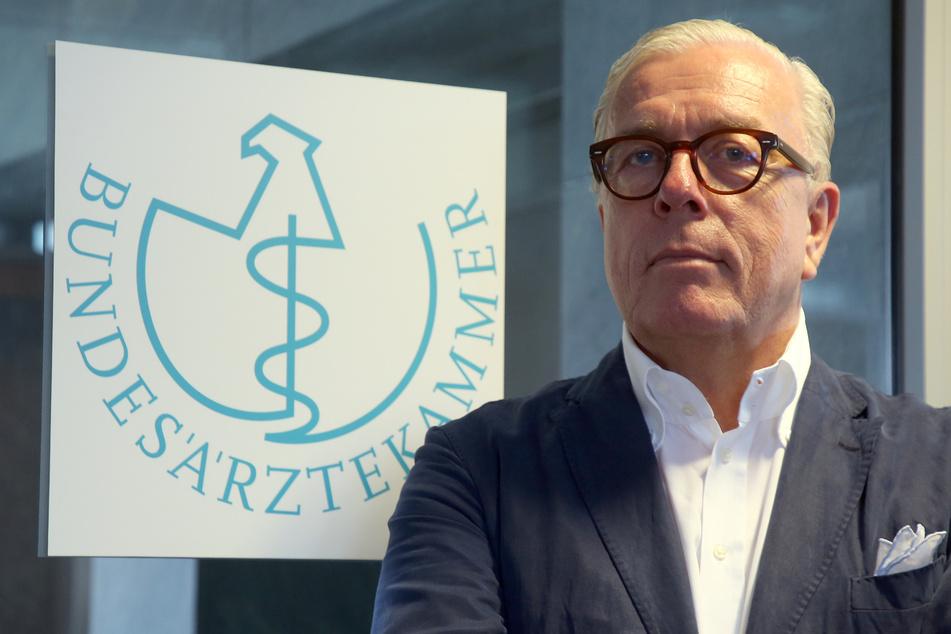 Klaus Reinhardt, Präsident der Bundesärztekammer. (Archivbild)