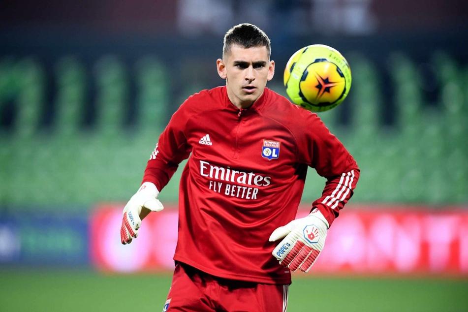 Torhüter Julian Pollersbeck (26) steht beim französischen Verein Olympique Lyon unter Vertrag.