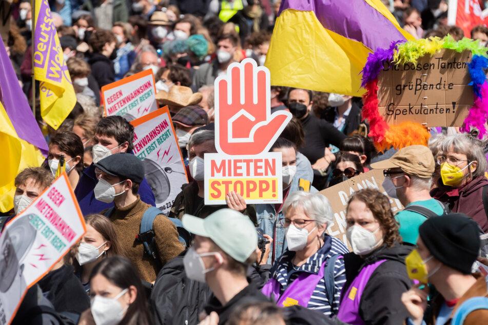 Schon bei der letzten Großdemonstration zogen Tausende Teilnehmer an Pfingsten durch Berlin.