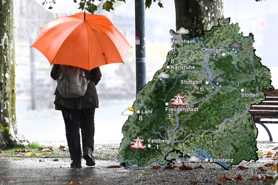 Kalt und nass: Dieses Wetter kommt jetzt auf uns im Ländle zu