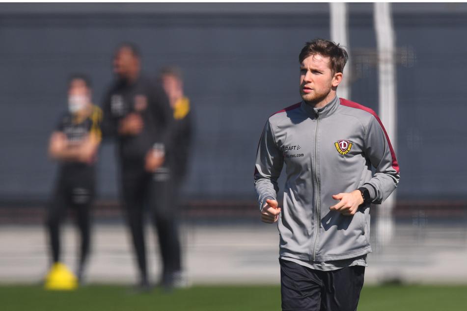 Sololäufe gehörten für Patrick Weihrauch in den vergangenen Wochen zum Standardprogramm. Mittlerweile trainiert der Mittelfeldmann wieder mit der Mannschaft und könnte so vielleicht schon am Mittwoch sein Comeback feiern.