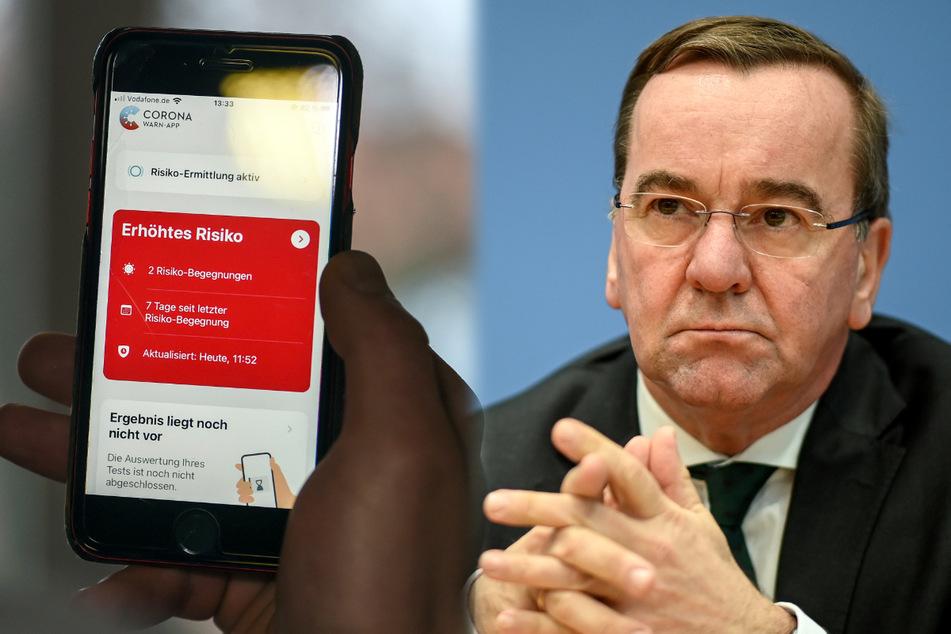 Corona-Warn-App derzeit sinnlos? Das will Innenminister Pistorius daher ändern