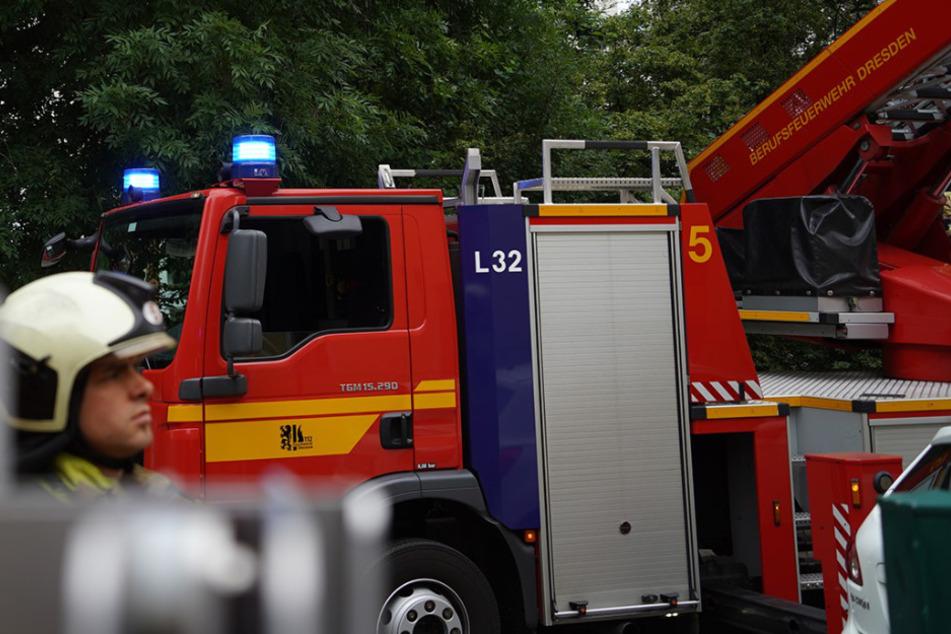 Zu einem Feuerwehreinsatz kam es in der Nacht zu Donnerstag auf der Freiberger Straße. (Symbolbild)
