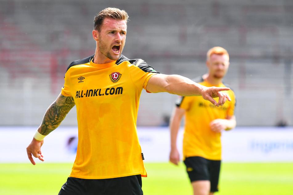 Verpasste bisher keine Minute: Der Österreicher Michael Sollbauer (31) hält die Abwehr zusammen - mal vom 0:3 gegen Paderborn abgesehen.