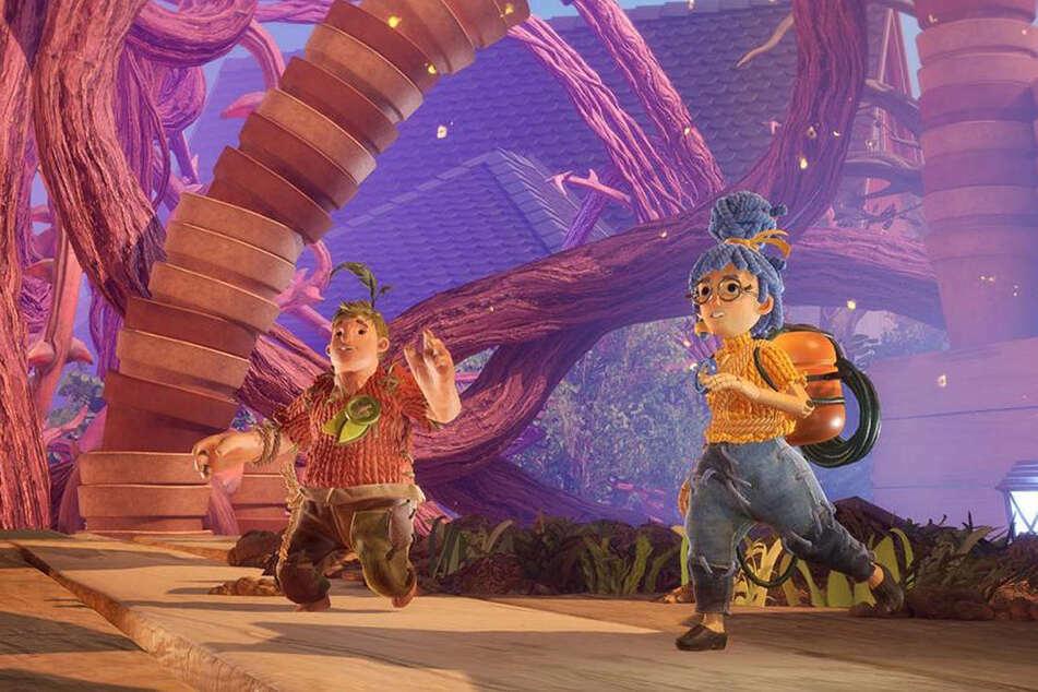 Die beiden Helden Cody and May suchen einen Weg zurück zu ihrem menschlichem Dasein.