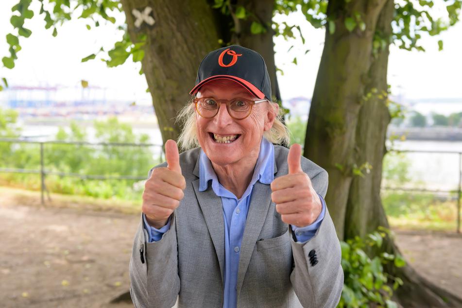 Otto Waalkes (72) wurde dank seiner Corona-Maske in der Öffentlichkeit weniger erkannt.