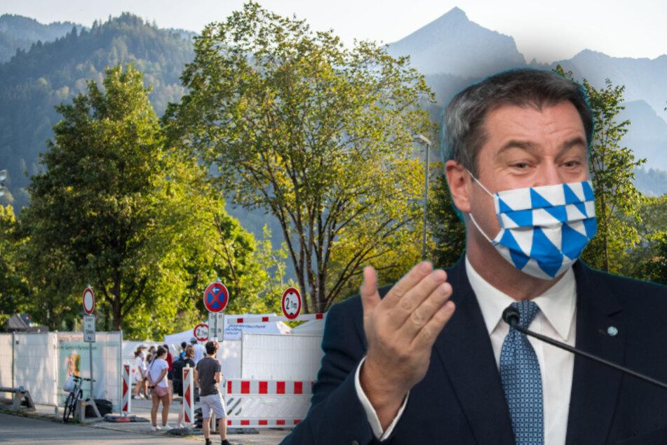 München: Leichtsinn muss Konsequenzen haben: Söder fordert Bestrafung der Superspreaderin