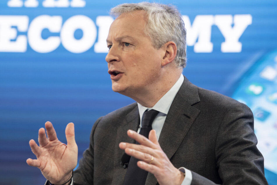 Frankreichs Wirtschafts- und Finanzminister Bruno Le Mair (50).