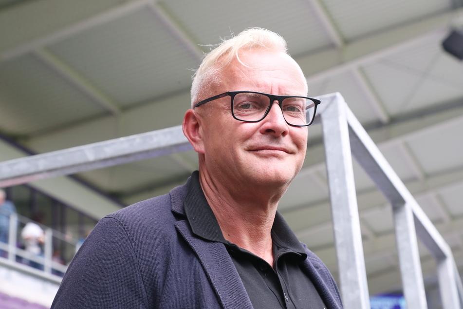 FCE-Geschäftsführer Michael Voigt (49) lobt das vorbildliche Verhalten der Auer Fans.