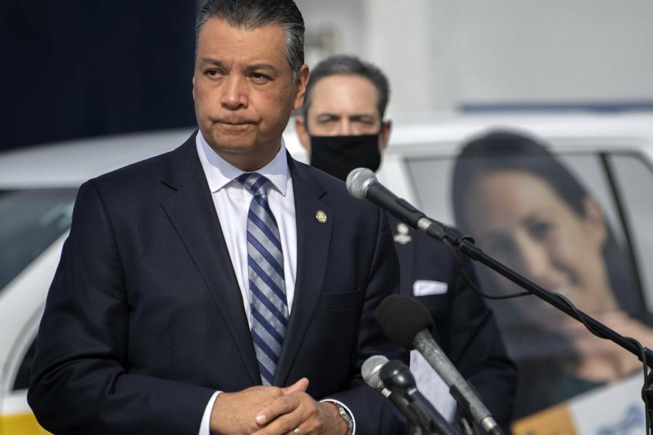 Alex Padilla formerly served as California secretary of state.
