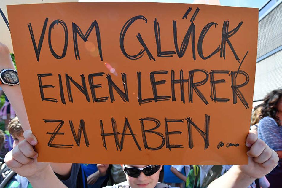 Erst Anfang Juni wurde gegen den Lehrermangel in Erfurt demonstriert.