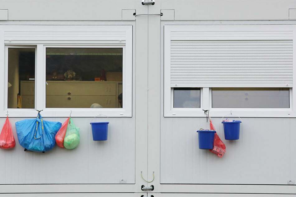 Die Stadt Leipzig benötigt aktuell etwa die Hälfte ihrer Wohncontainer nicht mehr für die Unterbringung von Flüchtlingen (Symbolbild)