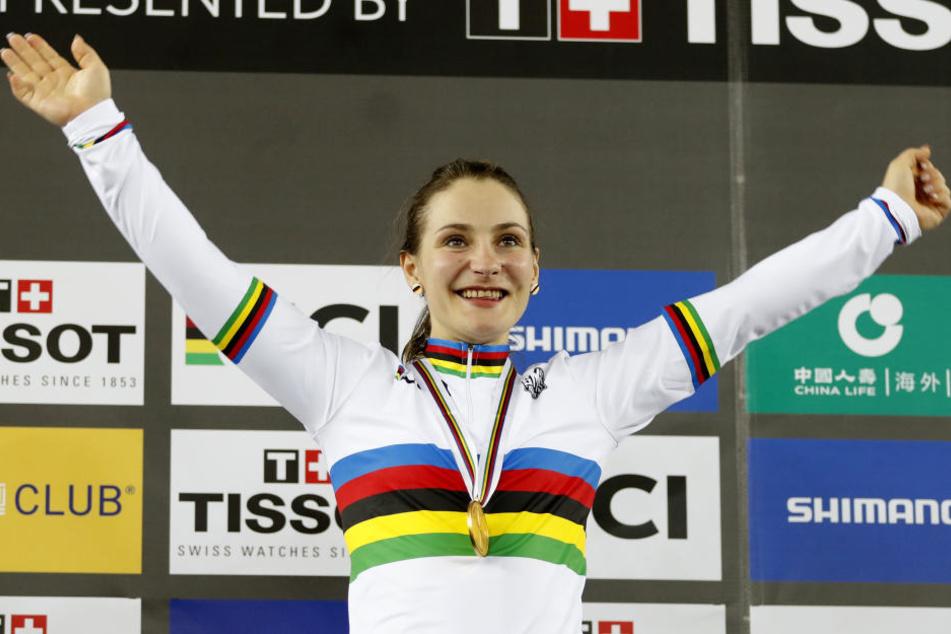Olympiasiegerin Kristina Vogel wurde bei einem Trainingsunfall schwer verletzt.