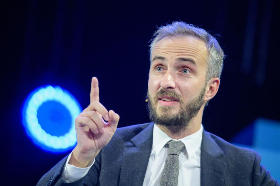 Jan Böhmermann (38) will nicht länger SPD-Chef werden.