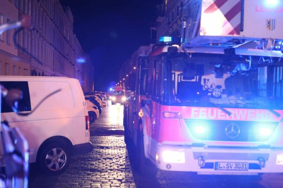 Bei Eintreffen der Feuerwehr war der Brand bereits unter Kontrolle gebracht.
