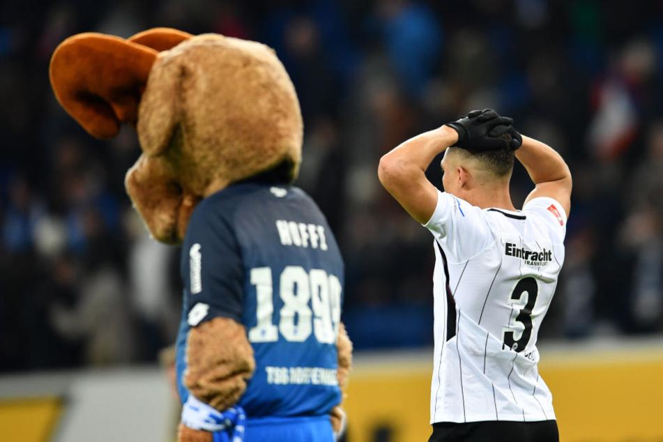 Simon Falette hätte lieber drei Punkte mit nach Frankfurt entführt.