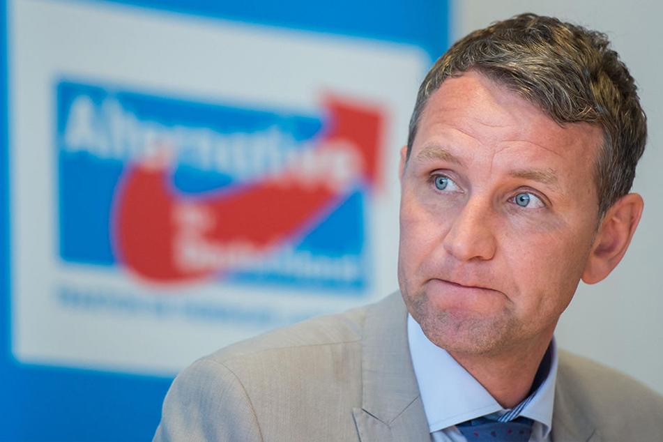 Muss sich jetzt Thüringens AfD-Chef Björn Höcke (45) ernsthafte Sorgen machen?