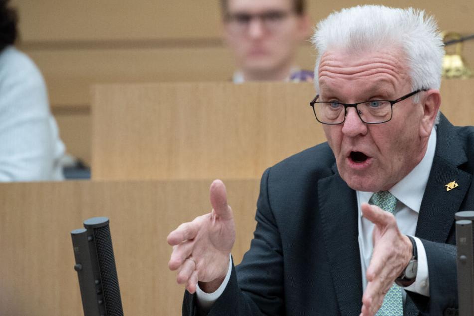 Knüpft die Ausweitung von sicheren Herkunftsländern an Bedingungen: Ministerpräsident Winfried Kretschmann.