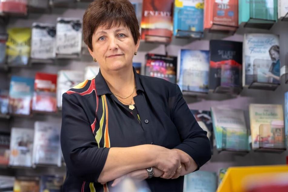 Ute Müller (57) ist Buchhändlerin mit Herz und Seele. Doch immer nur draufzahlen kann sie nicht.