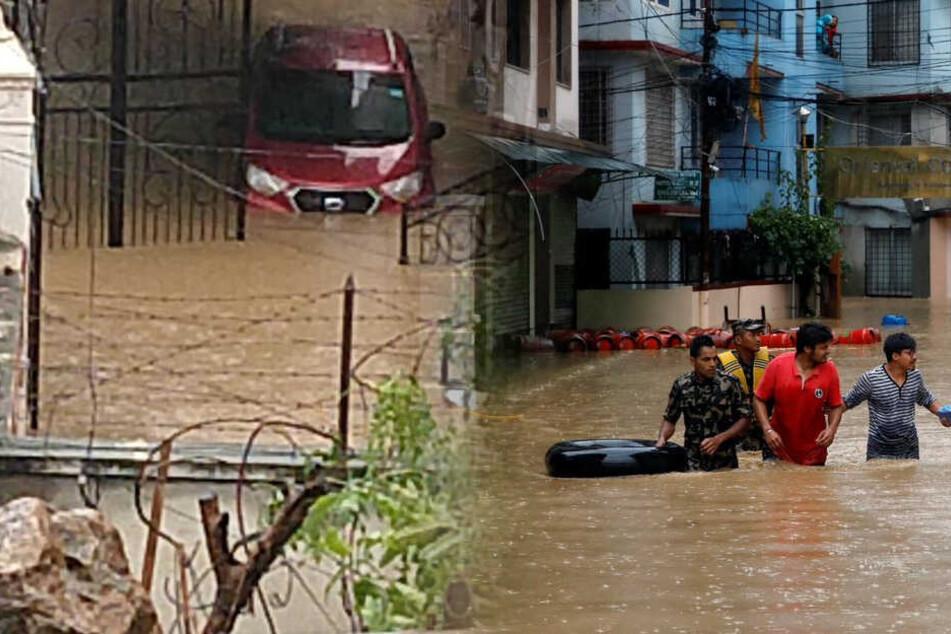 Autobahnen blockiert, Überschwemmungen: Mindestens 17 Menschen sterben bei Monsunregen