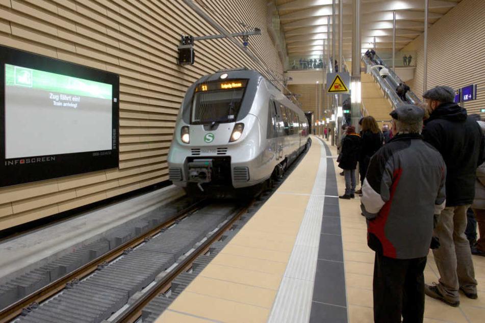 Wegen einer defekten Bremse saß eine S-Bahn im Citytunnel fest.