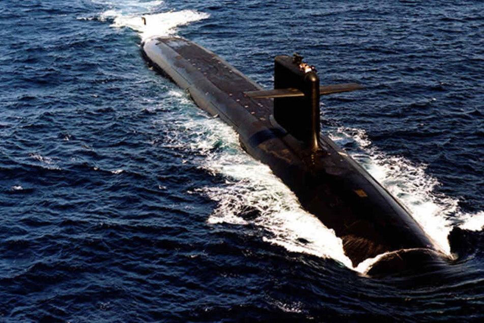 Die Batterien des U-Boots seien in Brand geraten. Danach wäre der Kontakt völlig abgebrochen. (Symbolbild)